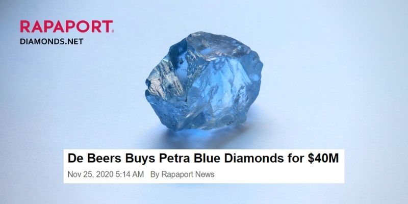 25.75ct Blue Diamond